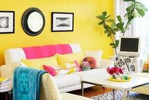Dream Home: Bold Choices / Bring on the color! From curtains and throw pillows, to walls and floors, and everything in between, there are so many ways to add the unexpected to your home's decor. These are some of our favorite examples of bold interior design. / by Frank Howard Allen