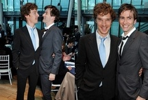 Tennant, and Cumberbatch / by Bad Wolf