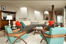 Dream Home: Mad Men Style / Taking inspiration from the hit TV series Mad Men, these are some of our favorite 60s and Mid-Century modern inspired interiors and home accessories.  / by Frank Howard Allen