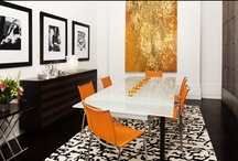 Dream Home: Orange & Black / Here we're big fans of our local team, the World Champion San Francisco Giants. So of course we need a board dedicated to decorating with one of our favorite color combinations: orange and black. / by Frank Howard Allen