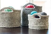 Crochet - Handbags & Baskets