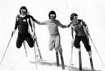 Retro Photos of Skiers