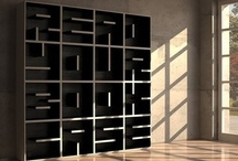 My Obsession with Bookshelves / Bookshelf (bookcase) innovation, design and diy projects  / by Stef Lu Beck