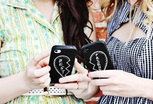 iPhone Cases / I get crazy about iPhone cases. my dream is to have one different to fit each item in my closet ... ah la-la la-la / by Kélyna Jenkins