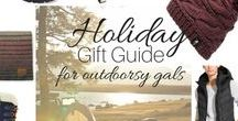 Healthy Holiday Gift Guide / Health Holiday Gifts! All the gift ideas you'll need for your loved ones who love living a healthy lifestyle!   Gift ideas for those who love yoga, hiking and camping, natural beauty and the gym!  *This board contains affiliate links