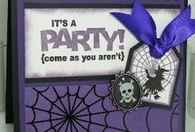 SU Halloween Cards and more / Stampin up sets all Halloween