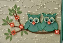 SU Bird, Owl, Fox and Tree Punch / Stampin Up Punches