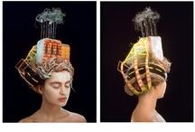 Hair Sculpture by Terry Niedzialek