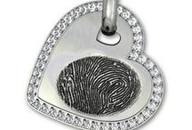 Mother's Day Gifts by Imprint On My Heart / Personalized Mother's Day Gifts of Fingerprint Jewlery, Handwritng Jewelry and Baby Footprint and Handprint Keepsakes all Custom Designed for Mom