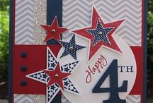 SU 4th of July / Stampin up only