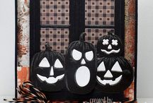 Cards Halloween / Not Stampin Up
