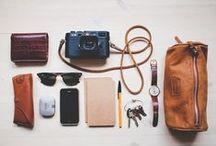 packs + travel vessels