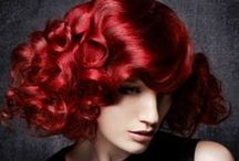 Hair Color Red & Copper