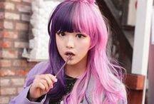 Split Hair Color