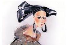Hair in Fashion Illustration