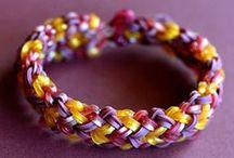 Rainbow Loom / Monster Tail / (But mostly Rainbow Loom) / by Jessica Nevala