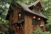 Small Home / Small Home - Tiny House - Cabin - Camps - Cottages - Woodland Home - Small Home Ideas