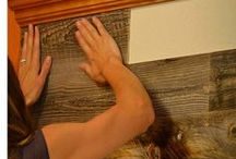 Wood Wall Treatments / by Jenny