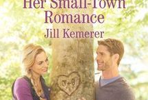Her Small-Town Romance: Lake Endwell Book 3 / Lake Endwell Book 3, Bryan Sheffield's story. Harlequin Love Inspired April 2016. Go to http://jillkemerer.com/books/her-small-town-romance/ for purchase links!