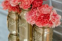 Repurpose Mason Jars / Creative ways to use Mason Jars