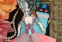 *Paper Dolls / Character construction Catherine Moore