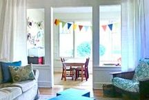Sunroom Playroom / I want to enclose our back porch and turn it into a playroom.