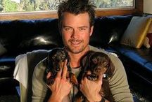 Josh Duhamel / Actor Josh Duhamel, inspiration for Reed in Small-Town Bachelor by Jill Kemerer