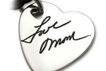 Handwriting Keepsakes by Imprint On My Heart / Jewelry with Handwriting