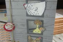 Cards Chickens / All Stamps Chicken