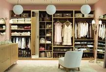 Storage Interior Design / Clever wardrobe ideas and joinery