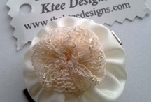 Ktee Designs / Ktee Designs creates beautiful unique gifts and sewing embellishments. Using upcycled, recycled new and pre-loved goodies to ensure wastage is minimised.