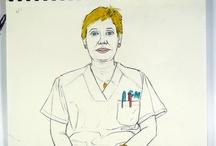 Sanidad Pública Madrileña / ¿Quién hace posible que disfrutemos de uno de los mejores sistemas sanitarios del mundo?  Público, gratuito, de todos y para todos.  Médicos, enfermeras, celadores, auxiliares… aquí presento a los protagonistas, que tienen mucho que contar. Si trabajas en la Sanidad Madrileña y quieres dejar tu testimonio a cambio de un retrato, eres bienvenido/a.