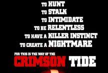 Alabama Crimson Tide / Celebrating 15 national championships, 1 pin at a time. / by Megan Brown