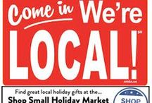 Shop Small Holiday Market /  businesses feature their locally-made artisan & organic foods, custom art & prints, health & beauty products, natural cleaning, hand made neckware, and gift baskets in one convenient location in the STARR Design Award winning St. Anthony Village Shops. Lots of parking & gift baskets available! One day only!