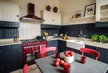 Interior Design Our Projects - 2 Tone kitchen / Kitchen in Edinburgh Apartment