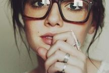 Makeup and glasses / by Kimberly Mann