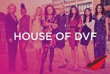 House of DVF / Eight young girls learn what it takes to become a DVF Brand Ambassador. Shop all the looks featured on the show here! / by DVF