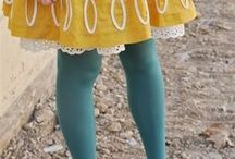 Dresses With Tights / by Kimberly Mann