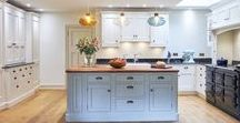Interior design Our Projects - Family Kitchen remodel / Family kitchen living room remodel. Bespoke cabinetry, kitchen island, painted kitchen. Interior design Edinburgh Scotland