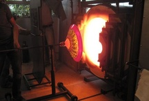 Glassblowing / The beauty of the orchestra of #glassblowers creating hand #blown glass sculpture. The craft of hand blown glass by various glass masters.