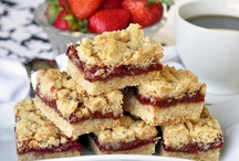 Bars, Cookie Bars, & Squares / by Donna Pettite