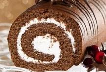 Cake Rolls / Swiss Rolls / Roulades / Buche De Noel Yule Logs / by Donna Pettite