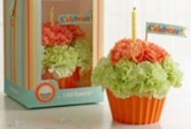 Floral Novelty Arrangements - Cakes / Cupcakes / Sundaes / Animals / Misc. / by Donna Pettite