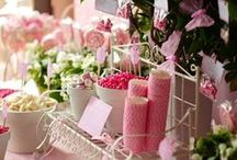 A LOVELY SPRING TEA PARTY / Lots of party decor ideas for a spring themed party or a tea party. This board also includes recipes for tea sandwiches, pretty drinks and other treats.