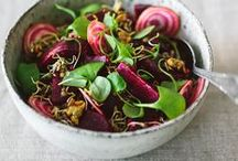 SUPER SALADS! / Hopefully these beautiful salads inspire you to make your own.