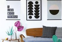 Interiors • On Your Wall / A collection of wonderful walls