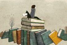 Books, books, books! / Books!