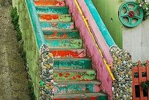 Stairway to Heaven / Anything having to do with stairs and steps decor.