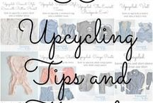 Upcycle Tutorials: Learn to Sew Your Kid's Wardrobe / Lots of basic upcycling tips and tutorials so you can sew your kid's wardrobe.
