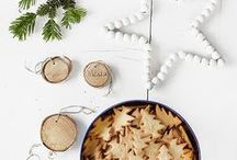 A Scandinavian Christmas / a festive collection of scandi style christmas decor with Not On The High Street #notjusttinsel